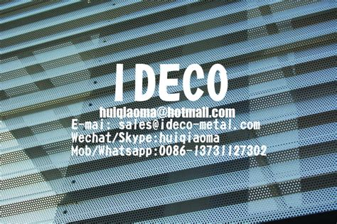 Different finishes including a variety of colors allow for these panels to be used in decorative applications or as aesthetically pleasing and. Decorative Screen 3D Curved/Bending/Corrugated Perforated Metal Sheet Panels for Architectural ...