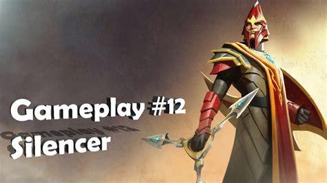 dota 2 gameplay silencer pt br youtube