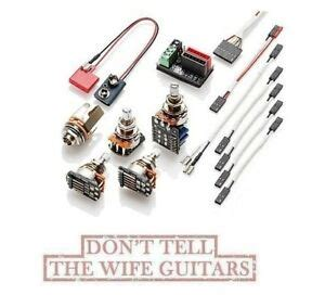 Emg Solderless Conversion Wiring Kit Pickups Includes