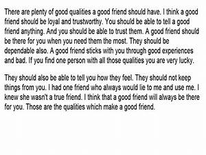 the qualities that make a best friend are