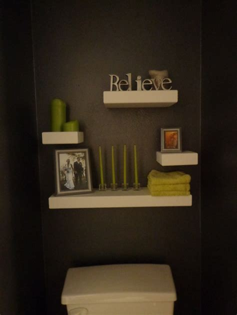 floating shelves   toilet bathroom ideas pinterest