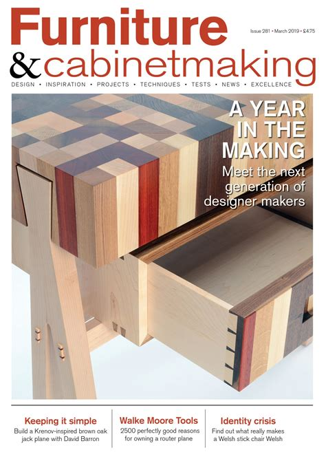 furniture  cabinetmaking magazine subscribe gmc