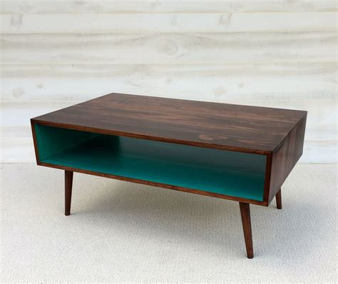 I came across this pretty diy mid century modern coffee table tutorial to revamp my living room! Buy Custom The Slim Mid Century Modern Coffee Table, made to order from Tiny Lions Designs ...