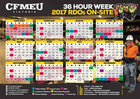 cfmeu vic tas site rdo calendar facebook