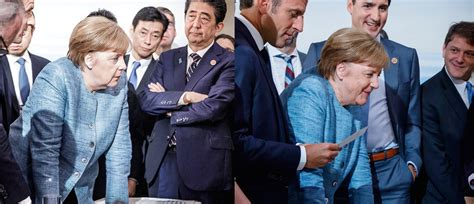 German chancellor angela merkel shared a photo that quickly went viral as the g7 summit came to a close. Angela Merkel's G7 Photo Went Viral. Here's The Photo She ...