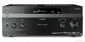 Sony Str-da4400es - Manual