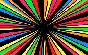 Rainbow Star Background Wallpaper