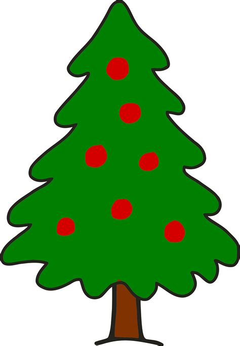 simple christmas tree clipart simple christmas tree