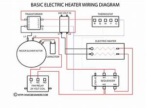 Electric Water Heater Thermostat Wiring Diagram