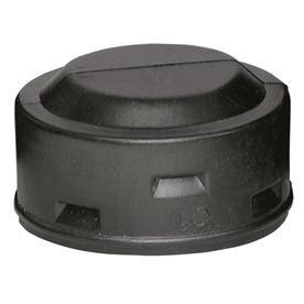 shop ads 3 in dia corrugated cap fitting at lowes