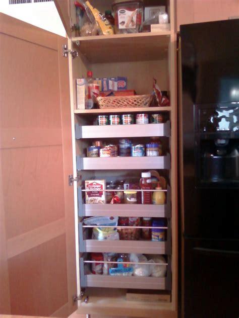 Large White Corner Kitchen Pantry Cabinet Mixed Red