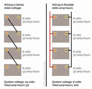 Wiring In Series And Parallel Diagram