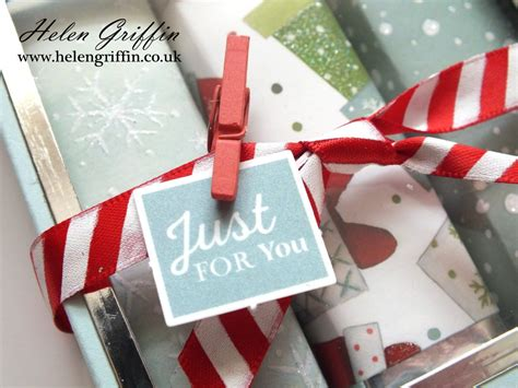Chocolate Bar Gift Box With