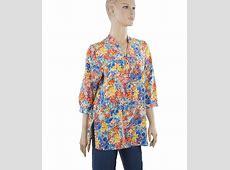 Summer Bloom Short Silk Shirt