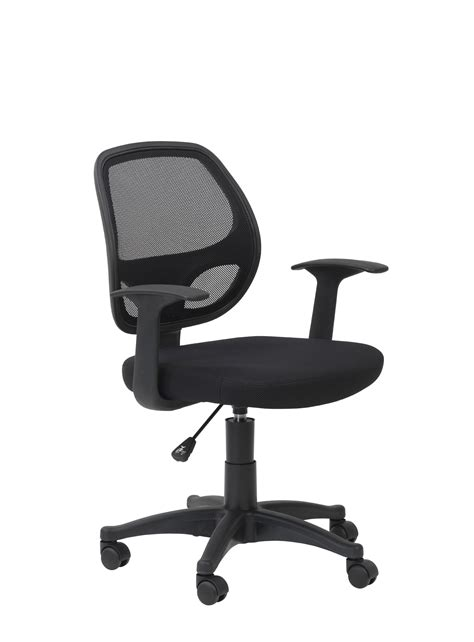 davis fabric mesh back office chair with arms buy