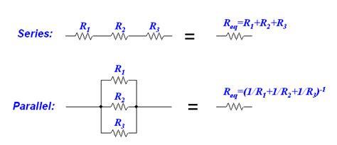 resistors  series  parallel physics socratic