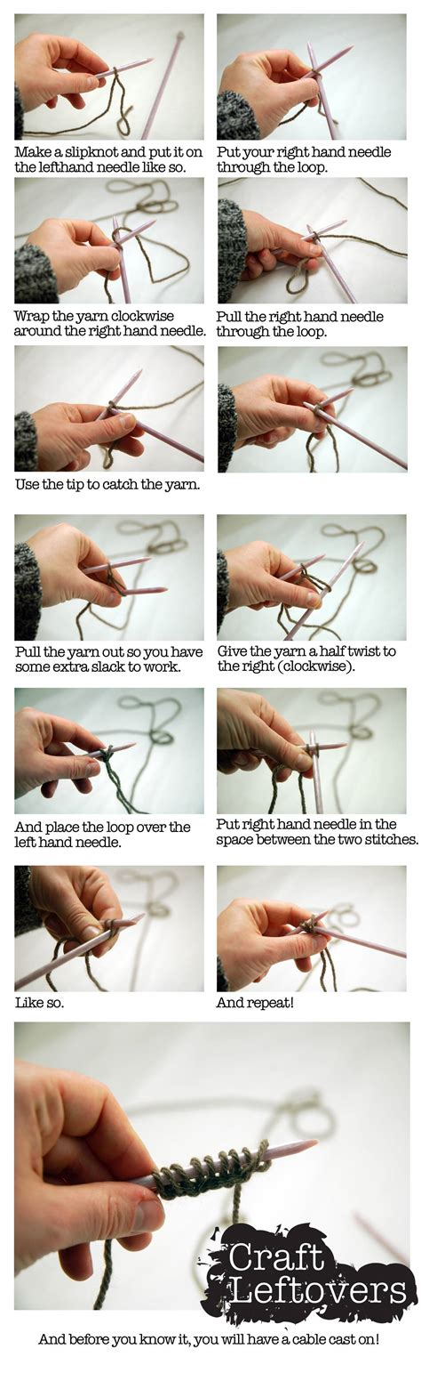 how to cast on knitting how to knit knitting picture