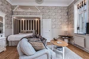 Idée Déco Petit Appartement : la d co autour du lit dans un petit appartement bricobistro ~ Zukunftsfamilie.com Idées de Décoration