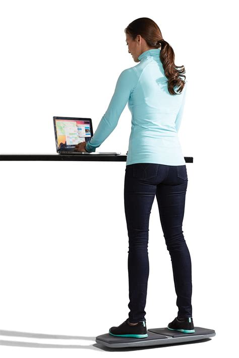 standing desk balance board amazon com gaiam evolve balance board for standing desk