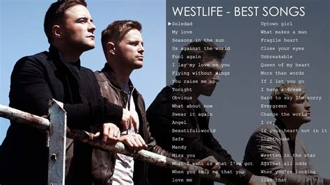 Best Songs Of Westlife  The Greatest Hits Youtube