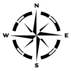 Printable Compass Rose Stencil