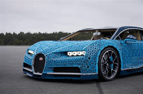 Lena dixen, senior vice president of product and marketing at the lego group , said: Full-scale, moving Bugatti Chiron made from Lego revealed   Autocar