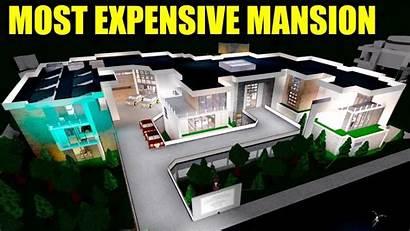 Bloxburg Mansion Roblox Ever Expensive Most Built