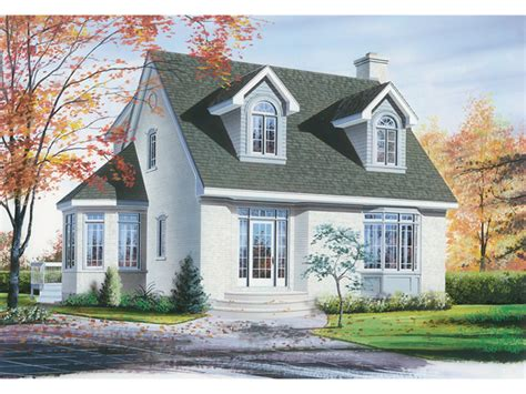 Hempstead New England Home Plan 032d-0201