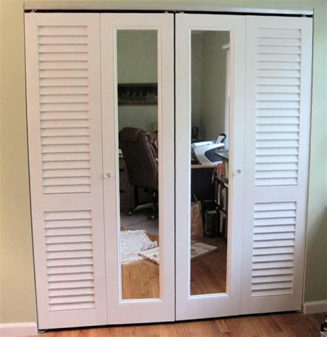 repurpose louvered closet doors home design ideas