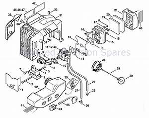 Stihl Fs 250 Parts Diagram
