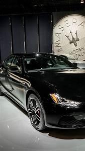 Wallpaper Maserati Ghibli Nerissimo, sport car, black