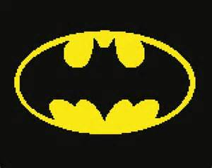 Batman Crochet Graph Pattern