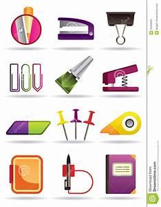 Outils De Librairie De Bureau Et D39cole Illustration De