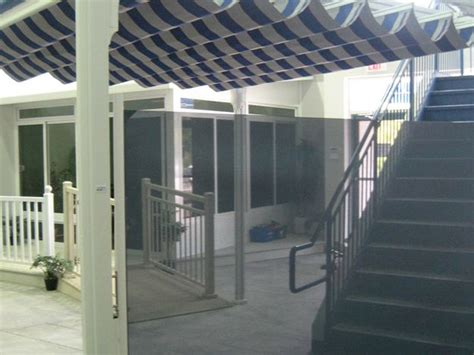solar shading ontario drop shades horizontal curtain systems barrie tent awning