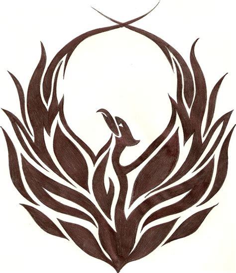 Tribal Phoenix By Iadamski On Deviantart