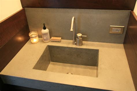New Bathroom Sink by Concrete Bathroom Sink Contemporary Bathroom Sinks
