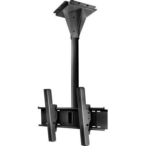 Peerless Ceiling Pole Mount by Peerless Av Ecmu 03 C Wind Ceiling Tilt Mount Ecmu 03 C