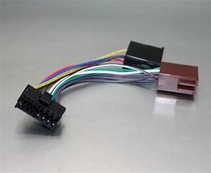 Nc Shipping Wire Harness For Jvc Car Stereo Iso 16 Pin Kd