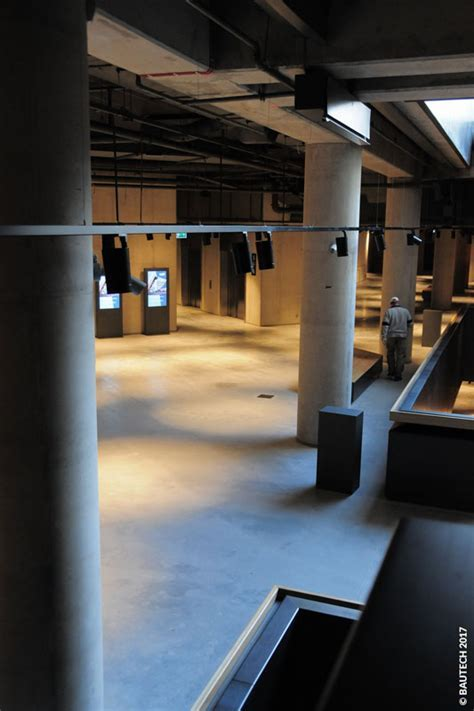 Concrete floor for Museum of the Second World War   Bautech