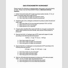 9+ Sample Stoichiometry Worksheets  Sample Templates