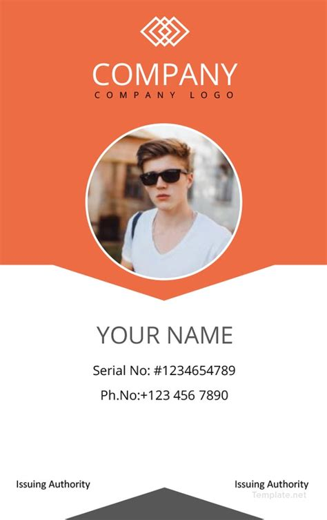 professional id card designs psd eps format