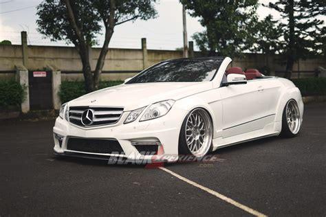 Modifikasi Mercedes E Class by Modifikasi E Class Cabrio Semakin Berkat Prior
