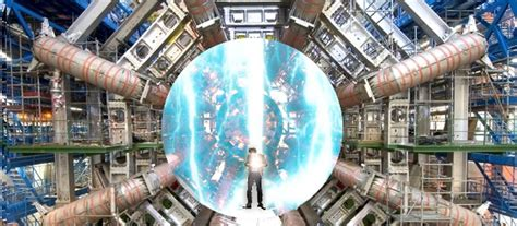 Man Arrested At Large Hadron Collider Claims He's From The