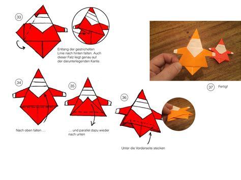 diy origami weihnachtsmann wwwkinderzeit bremende