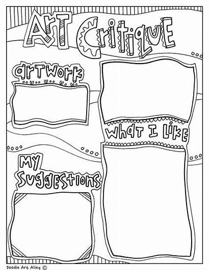 History Coloring Critiques Visual Classroom Arts Classroomdoodles