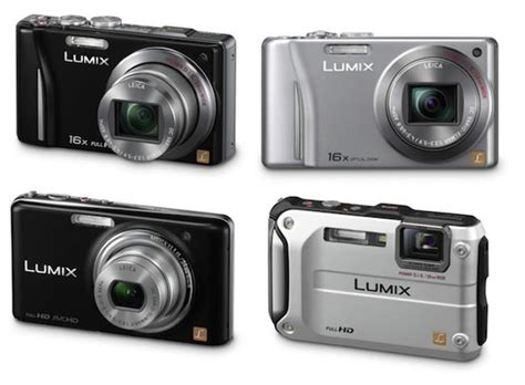 panasonic unveils new lumix range of point and shoot cameras