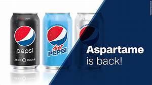 Diet Pepsi brings aspartame back