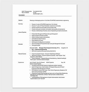 engineering resume template 20 examples for word pdf With entry level mechanical engineering resume