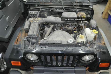 jeep wrangler tj se  cylinder project rebuildable