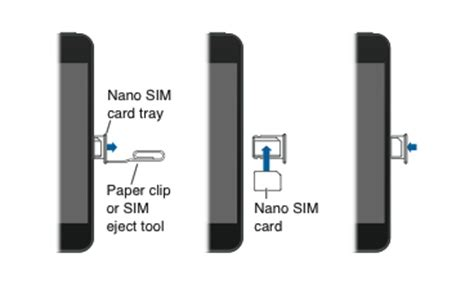 how to get sim card out of iphone 4 remove or switch the sim card in your iphone or